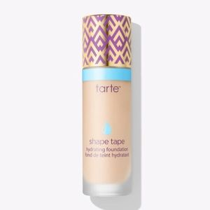 Tarte shape tape hydrating foundation light sand
